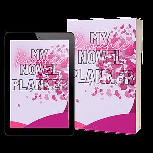 Romance Book Planner Workbook + Worksheets | NaNoWriMo Worksheets | Novel Planner | Writing Planner | Printable Worksheets | Author Planner