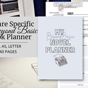 Beyond Basic Book Planner