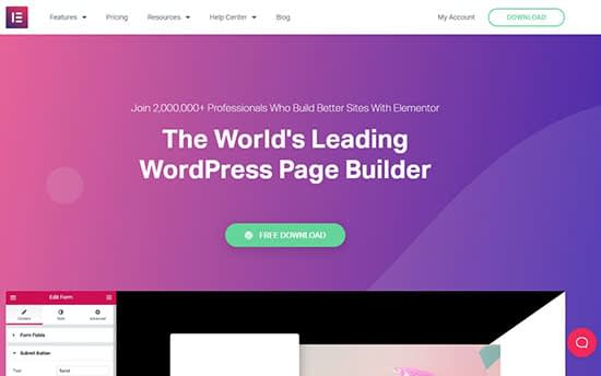 Platform building with this page builder
