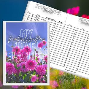 NaNoWriMo Book Planner Printable Workbook    NaNoWriMo Worksheets   Novel Planner   Writing Planner   Printable Workbook   Author Planner