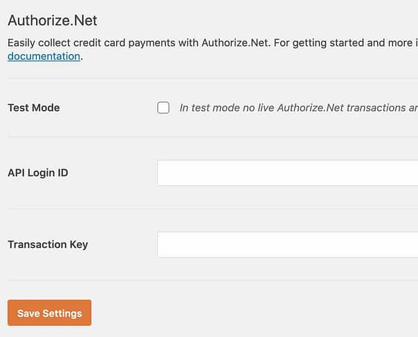 authorize.net addon